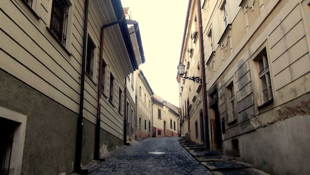 Bratislava Old Town alley
