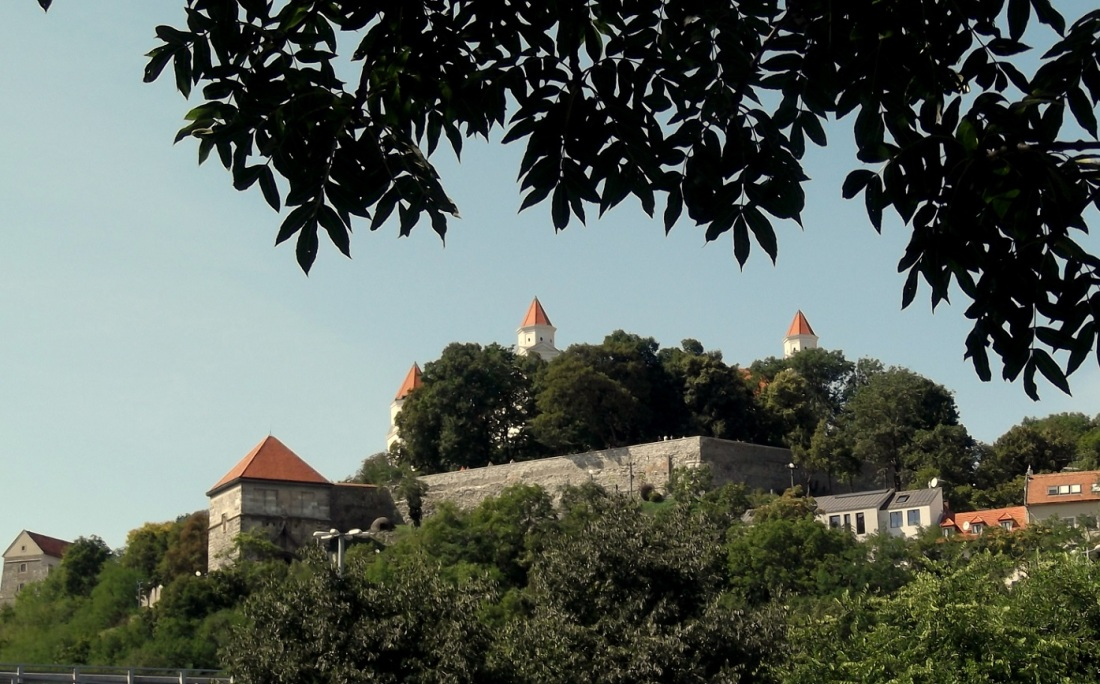 Bratislava castle hill