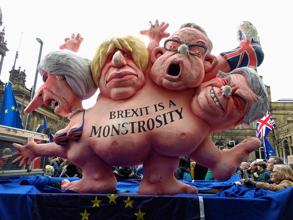brexit monster in leeds