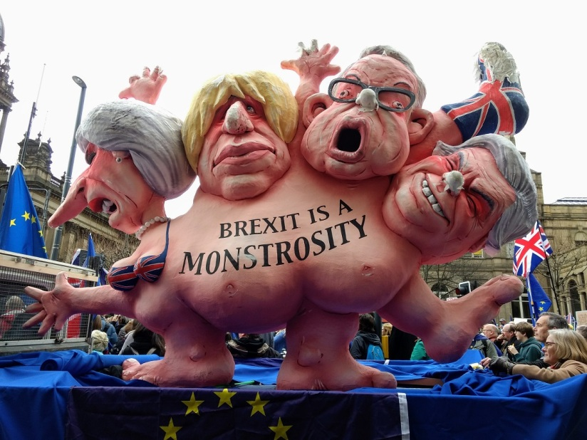 brexit monster in leeds