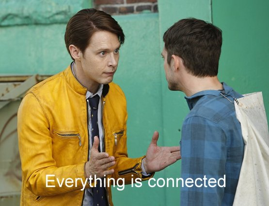 dirk gently connected