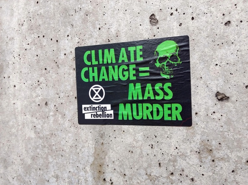 climate change is mass murder